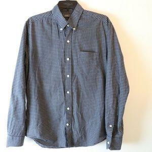 Vince  Long Sleeve Button Shirt Plaid Medium